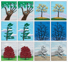 Picture a Tree matching game