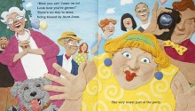 "Book illustration, The Party"", client: Scholastic Canada.  © Barbara Reid"