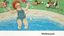 "Book illustration, ""Zoe's Sunny Day"", client: Scholastic Canada.  © Barbara Reid"