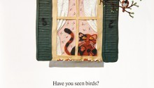 "Book illustration, ""Have You Seen Birds?"", client: Scholastic Canada.  © Barbara Reid"